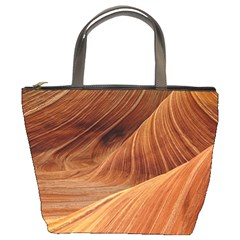 Sandstone The Wave Rock Nature Red Sand Bucket Bags
