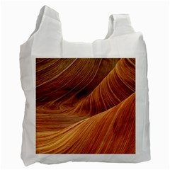 Sandstone The Wave Rock Nature Red Sand Recycle Bag (two Side)