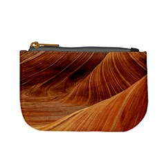 Sandstone The Wave Rock Nature Red Sand Mini Coin Purses