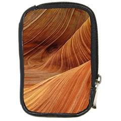 Sandstone The Wave Rock Nature Red Sand Compact Camera Cases