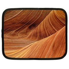 Sandstone The Wave Rock Nature Red Sand Netbook Case (XXL)