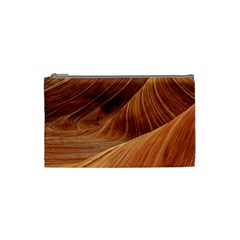 Sandstone The Wave Rock Nature Red Sand Cosmetic Bag (small)