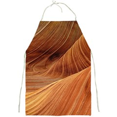 Sandstone The Wave Rock Nature Red Sand Full Print Aprons