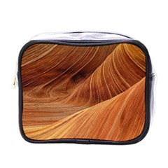 Sandstone The Wave Rock Nature Red Sand Mini Toiletries Bags