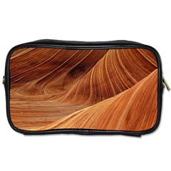 Sandstone The Wave Rock Nature Red Sand Toiletries Bags