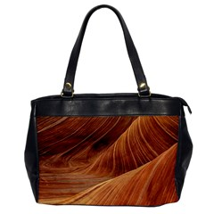 Sandstone The Wave Rock Nature Red Sand Office Handbags