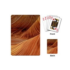 Sandstone The Wave Rock Nature Red Sand Playing Cards (mini)