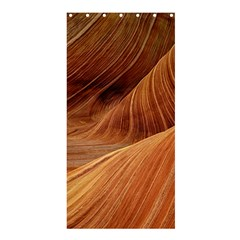 Sandstone The Wave Rock Nature Red Sand Shower Curtain 36  X 72  (stall)