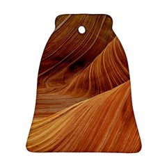 Sandstone The Wave Rock Nature Red Sand Ornament (bell)