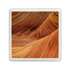 Sandstone The Wave Rock Nature Red Sand Memory Card Reader (square)