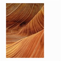 Sandstone The Wave Rock Nature Red Sand Small Garden Flag (two Sides)