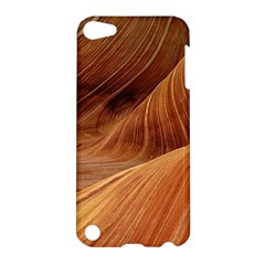 Sandstone The Wave Rock Nature Red Sand Apple Ipod Touch 5 Hardshell Case