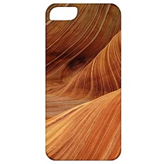 Sandstone The Wave Rock Nature Red Sand Apple Iphone 5 Classic Hardshell Case