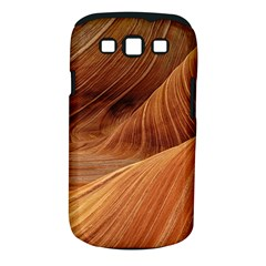 Sandstone The Wave Rock Nature Red Sand Samsung Galaxy S Iii Classic Hardshell Case (pc+silicone)