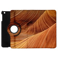 Sandstone The Wave Rock Nature Red Sand Apple Ipad Mini Flip 360 Case