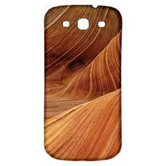 Sandstone The Wave Rock Nature Red Sand Samsung Galaxy S3 S Iii Classic Hardshell Back Case