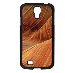 Sandstone The Wave Rock Nature Red Sand Samsung Galaxy S4 I9500/ I9505 Case (black)