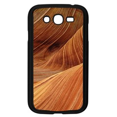 Sandstone The Wave Rock Nature Red Sand Samsung Galaxy Grand Duos I9082 Case (black)