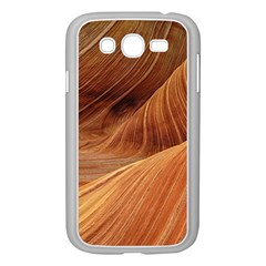 Sandstone The Wave Rock Nature Red Sand Samsung Galaxy Grand Duos I9082 Case (white)