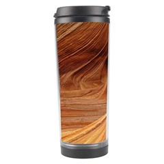 Sandstone The Wave Rock Nature Red Sand Travel Tumbler