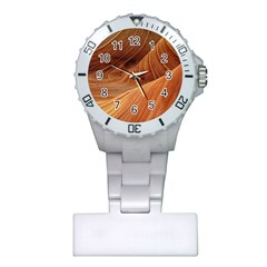 Sandstone The Wave Rock Nature Red Sand Plastic Nurses Watch