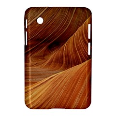 Sandstone The Wave Rock Nature Red Sand Samsung Galaxy Tab 2 (7 ) P3100 Hardshell Case