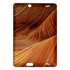 Sandstone The Wave Rock Nature Red Sand Amazon Kindle Fire Hd (2013) Hardshell Case