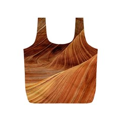 Sandstone The Wave Rock Nature Red Sand Full Print Recycle Bags (s)