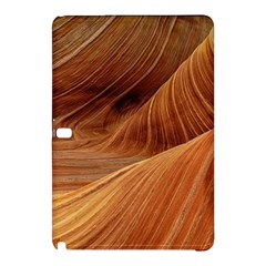 Sandstone The Wave Rock Nature Red Sand Samsung Galaxy Tab Pro 12 2 Hardshell Case