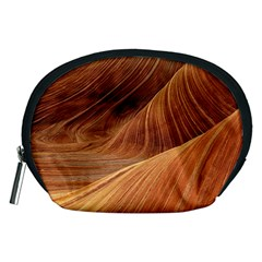 Sandstone The Wave Rock Nature Red Sand Accessory Pouches (medium)