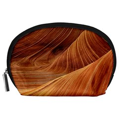Sandstone The Wave Rock Nature Red Sand Accessory Pouches (large)