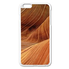 Sandstone The Wave Rock Nature Red Sand Apple Iphone 6 Plus/6s Plus Enamel White Case
