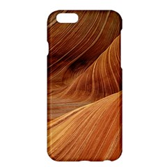 Sandstone The Wave Rock Nature Red Sand Apple Iphone 6 Plus/6s Plus Hardshell Case