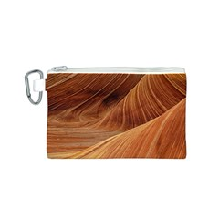 Sandstone The Wave Rock Nature Red Sand Canvas Cosmetic Bag (s)