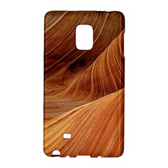 Sandstone The Wave Rock Nature Red Sand Galaxy Note Edge