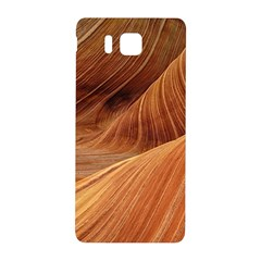 Sandstone The Wave Rock Nature Red Sand Samsung Galaxy Alpha Hardshell Back Case