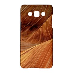 Sandstone The Wave Rock Nature Red Sand Samsung Galaxy A5 Hardshell Case