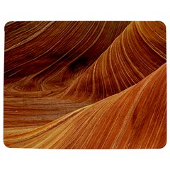 Sandstone The Wave Rock Nature Red Sand Jigsaw Puzzle Photo Stand (rectangular)