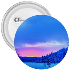Winter Landscape Snow Forest Trees 3  Buttons