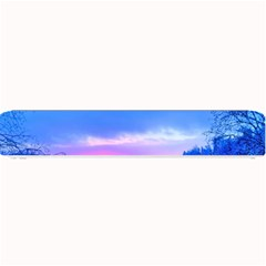 Winter Landscape Snow Forest Trees Small Bar Mats