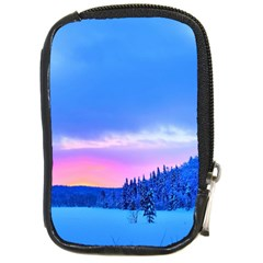 Winter Landscape Snow Forest Trees Compact Camera Cases