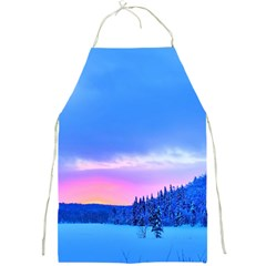 Winter Landscape Snow Forest Trees Full Print Aprons