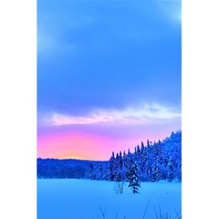 Winter Landscape Snow Forest Trees 5 5  X 8 5  Notebooks