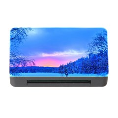 Winter Landscape Snow Forest Trees Memory Card Reader With Cf