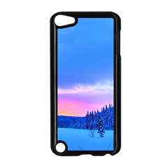 Winter Landscape Snow Forest Trees Apple Ipod Touch 5 Case (black)