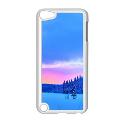 Winter Landscape Snow Forest Trees Apple Ipod Touch 5 Case (white)