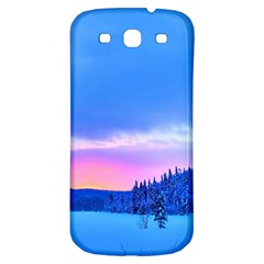 Winter Landscape Snow Forest Trees Samsung Galaxy S3 S Iii Classic Hardshell Back Case