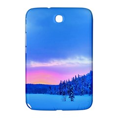 Winter Landscape Snow Forest Trees Samsung Galaxy Note 8 0 N5100 Hardshell Case