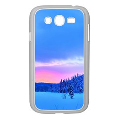 Winter Landscape Snow Forest Trees Samsung Galaxy Grand Duos I9082 Case (white)