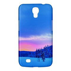 Winter Landscape Snow Forest Trees Samsung Galaxy Mega 6 3  I9200 Hardshell Case